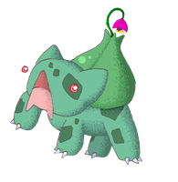 Sprout the Bulbasaur by SometimesCats