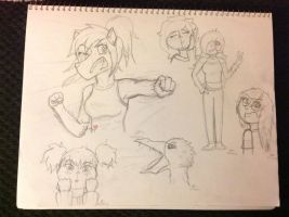 ~Get it started in HA!~ {Random Sketch Requests} by SamIamLuvDov
