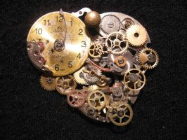 Steampunk pendant by Anorax