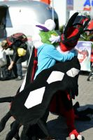 Pokemon Day 2013 - Tornadus and Yveltal