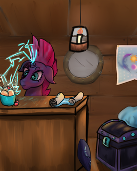 Tempest Fizzing by NoradTwo