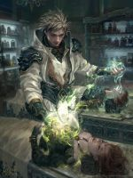 LotC:: Havart the Healer by Dopaprime