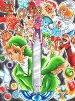 Ocarina of Time by Laurence-L