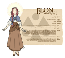 Character Guide - Elon by foxlee