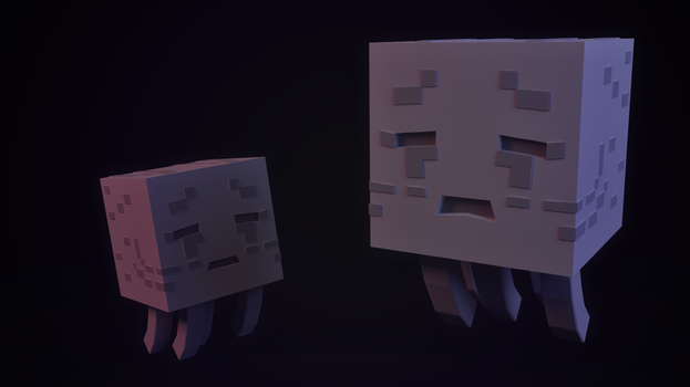 Be careful! A wild Ghast appeared! by J4RV