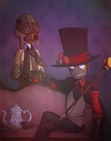 Villainous (Steampunk Inspired) by HayaMika