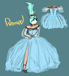 Prom Pineappl by candiipineappl
