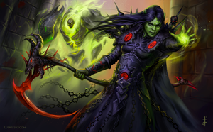 World of Warcraft: Orc Warlock by LudvikSKP