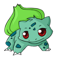 001. Bulbasaur by ChibiTigre