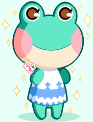 Animal Crossing New Leaf: Lily ~ by Haato-No-Koe