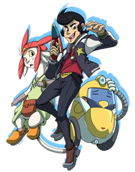 Space Dandy by forte-girl7