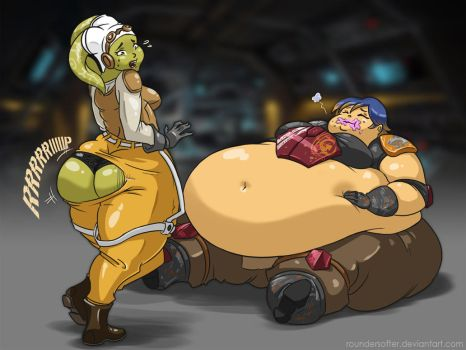 Comm - Sabine and Hera 3 - alternative by RounderSofter