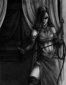 The Revered Lady Black by tacticangel