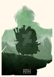 Howl's Moving Castle by ryanswannick