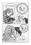 Manga Page - new story (experiment) by SusiKISS
