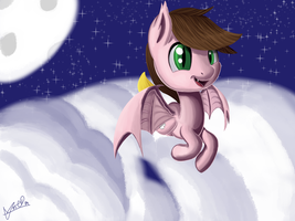 [Request] Cole the batpony by dha1487405090
