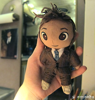 10th Doctor Plushie by Emoeba