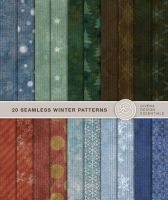 20 Colorful Winter Backgrounds by Divenadesign