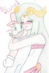 Mario and Palutena by Ike910