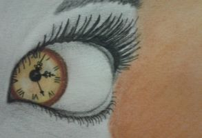 Eye can tell you the Time by DemonRed6