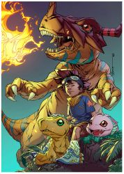 Digimon by rainerpetterart