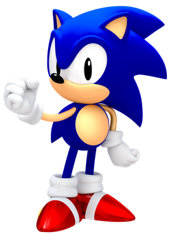 Another 25th Anniversary Classic Sonic Render by JaysonJeanChannel