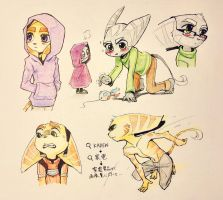 Doodles RnC by airbax