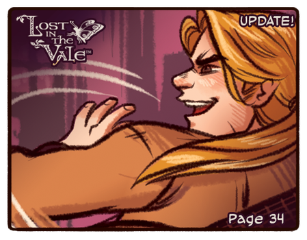 Lost in the Vale Update! - Pg 34 by CrystalCurtisArt