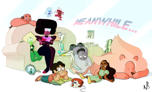 Meanwhile... by Natal-ee-a