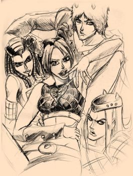 JOLYNE and FRIENDS by WadeVezecha