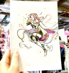 STGCC Commission 1 - Celica by SillyJellie