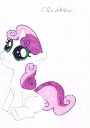 Sweetie Belle by clouddasher