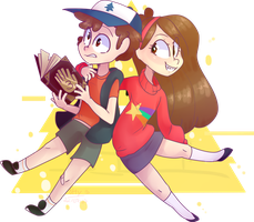 Mystery twins by Emily-826