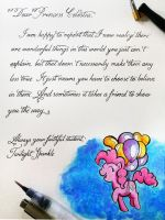 Friendship Lesson: Feeling Pinkie Keen by Cola-Colic