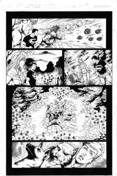 Teen Titans 84 pg 10 Inks by Mariah-Benes