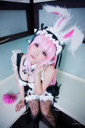 Super Sonico | Maid Bunny ver. 02 by yingtze