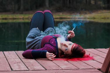 Smoking Red 2 by TwilitesMuse