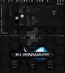 Preview of my upcoming Alienware HQ DARK by Designfjotten