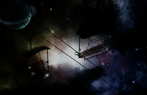Space Lift by OcularFracture