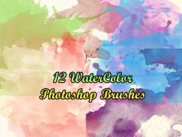 WaterColor Brushes by petermarge