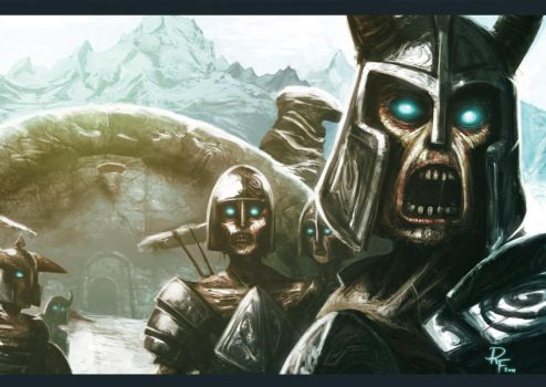Draugr Attack by 1Rich1