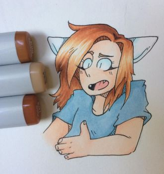 NEW PENS FINALLY by FikaKitty