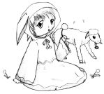 Girl and lamb by opiel16