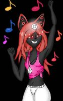 KEEP THE MUSIC UP BABY! by Pink-Sanity