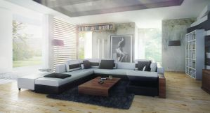Dreamy living room by bizkitfan