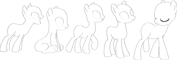 Pony Pack MLP by Piucca