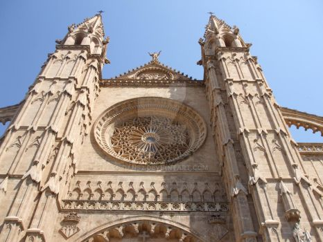 the cathedral of Palma by dans2