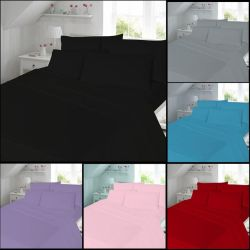 Brushed Cotton Thermal Flannelette Fitted Flat by 3545247