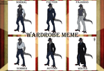 CD: Hax's wardrobe by Derekari