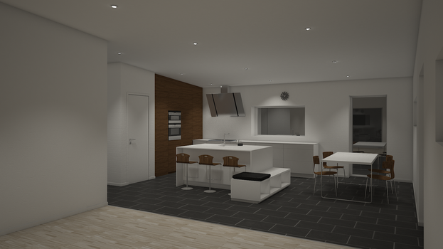 3d Kitchen by Thonbo